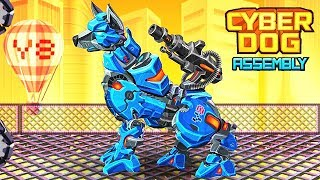Cyber Dog Assembly - Y8 Game | Eftsei Gaming