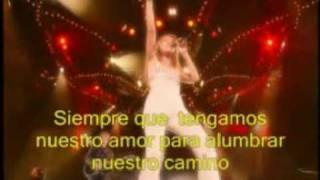 Celine Dion - Au Coeur du Stade - Parte 16 - Love can move mountains (traducida)