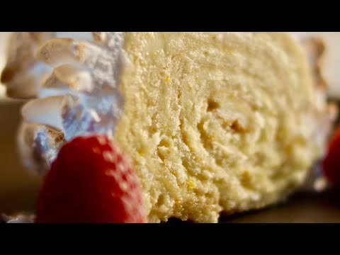 Lemon Cream Roulade - Bruno Albouze - THE REAL DEAL