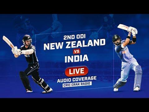 LIVE: NZ vs Ind 2nd ODI | Live Scores, Audio Updates & Analysis