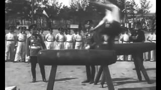 Кадеты занимаются гимнастикой, 1914 год