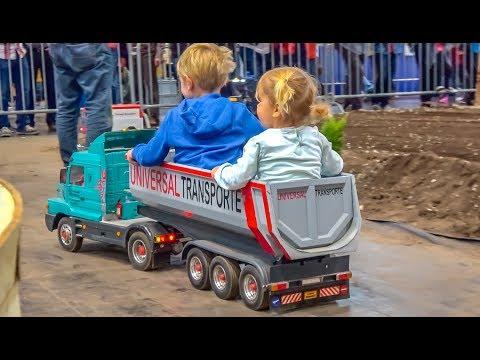 Handmade! RC Tractors! Trucks! Heavy Machines! GIANT 1/8 scale!