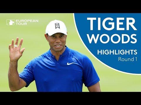 Tiger Woods Highlights   Round 1   2018 WGC-Bridgestone Invitational
