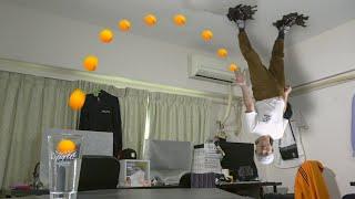 【ばかっこいい日常】CGの人が2人!誰かCGか見破れ! Ping Pong Trick Shots 3