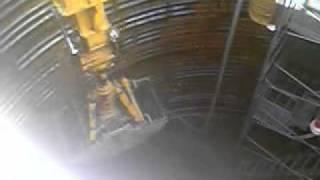深礎工事 都市土木 テレスコ式クラムシェル