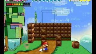 Super Paper Mario (Wii) - Chapter 1-1