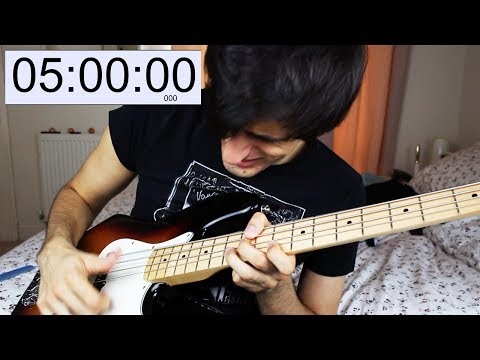 Download Youtube: SLAPPING the BASS for 5 HOURS STRAIGHT