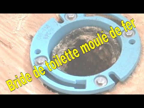 Bride de toilette moulé de fer - YouTube