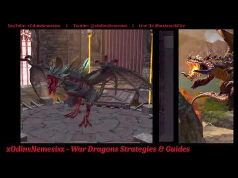 War Dragons: Fall Season Dragons Spells & Review!!! (Part1)