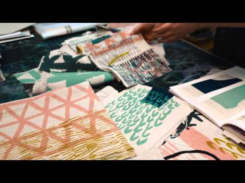 Laura Slater: pattern designer and printmaker