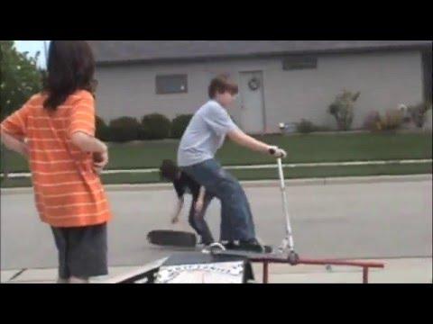 Skating or crashing