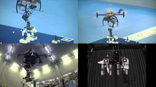 Hybrid visual servoing with hierarchical task composition for aerial manipulation