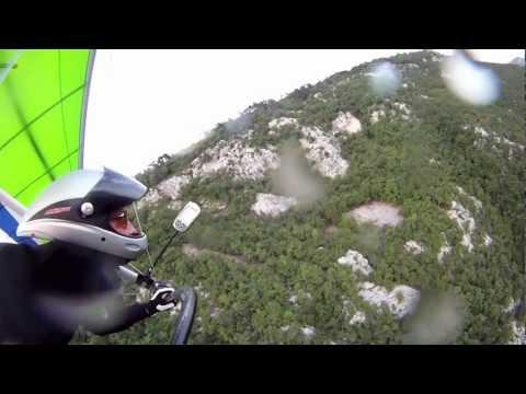 Close Hangglider Crash Slovenia