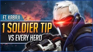 1 SOLDIER: 76 TIP for EVERY HERO ft. Kabaji thumbnail