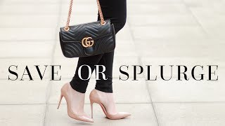 SAVE vs. SPLURGE! LUXURY ITEMS NOT WORTH THE MONEY
