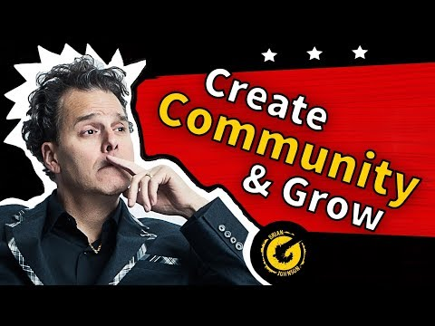 How to Create Community on YouTube - Facebook Group Marketing