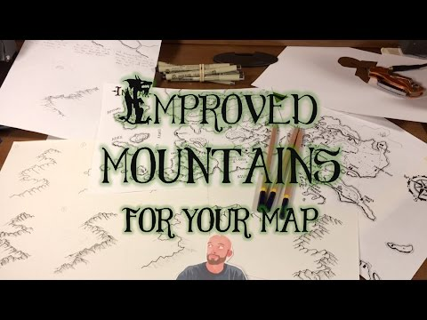 Improved Mountain Drawing for your Fantasy Maps