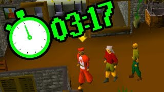 Tutorial Island In ONLY 3 Minutes - The World Of OSRS Speedrunning