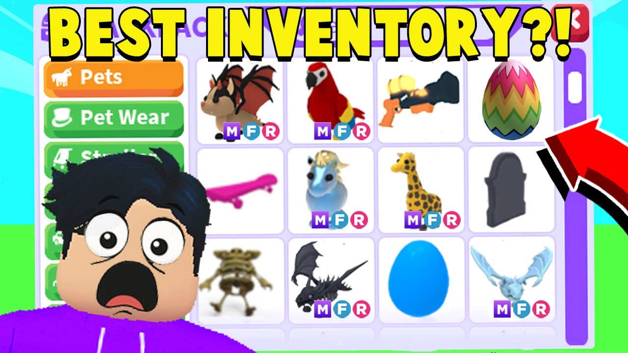 The RAREST Adopt Me INVENTORY You ll EVER See (99% COMPLETE