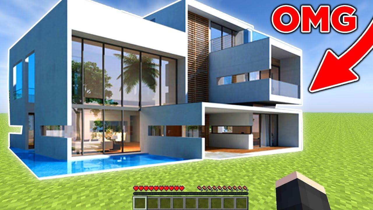 Luxus villa bauen in minecraft youtube for Luxusvilla bauen
