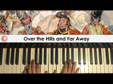 British Traditional Folk Tune - Over The Hills and Far Away (Piano Cover) | Patreon Dedication #310