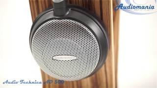 видео Обзор головных телефонов Audio-Technica ATH-AD500x и ATH-AD1000x
