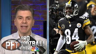Did Antonio Brown, Oakland Raiders have master plan all along? | Pro Football Talk | NBC Sports