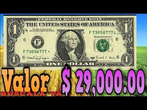 BILLETE  CON ERROR CON VALOR $29,000 00  FANCY BANK NOTE