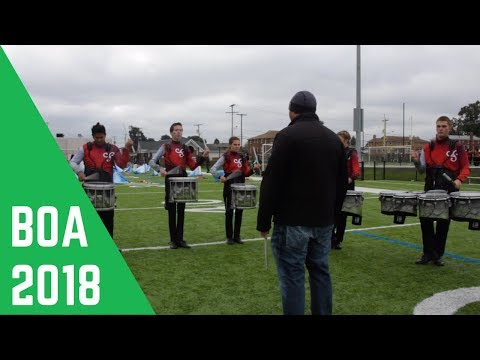 Worthington Kilbourne High School 2018 Drumline
