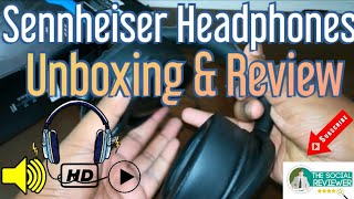 Unboxing Sennheiser HD 4.30 G Headphones | Review | The Social Reviewer