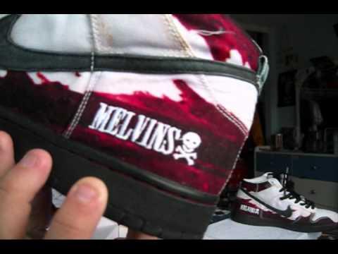 Nike SB #48,49 White melvins \u0026 Shanghai