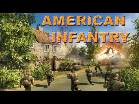 Men of War Assault Squad 2 - Multiplayer Gameplay - American Infantry |