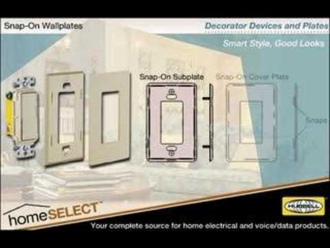 Hubbell Wiring Devices HomeSELECT™ Residential Wiring Device