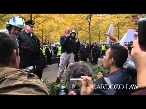 Cardozo Law Defense Clinic Helps Occupy Wall Street Protesters