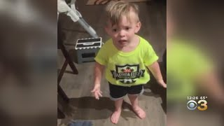 Toddler's Adorable Rant After Mom Leaves For Work Goes Viral
