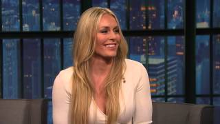 Lindsey Vonn Talks Dating Tiger Woods   Late Night with Seth Meyers