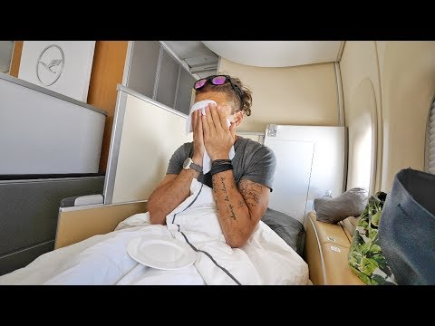 Thumbnail: INCREDIBLE LUFTHANSA FIRST CLASS REVIEW featuring WESLEY SNIPES