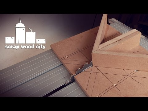 DIY miter sled for the table saw
