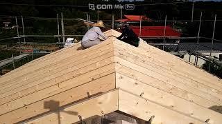ALC주택 지붕구조목 연결철물 아연피스 고정 튼튼한 목…