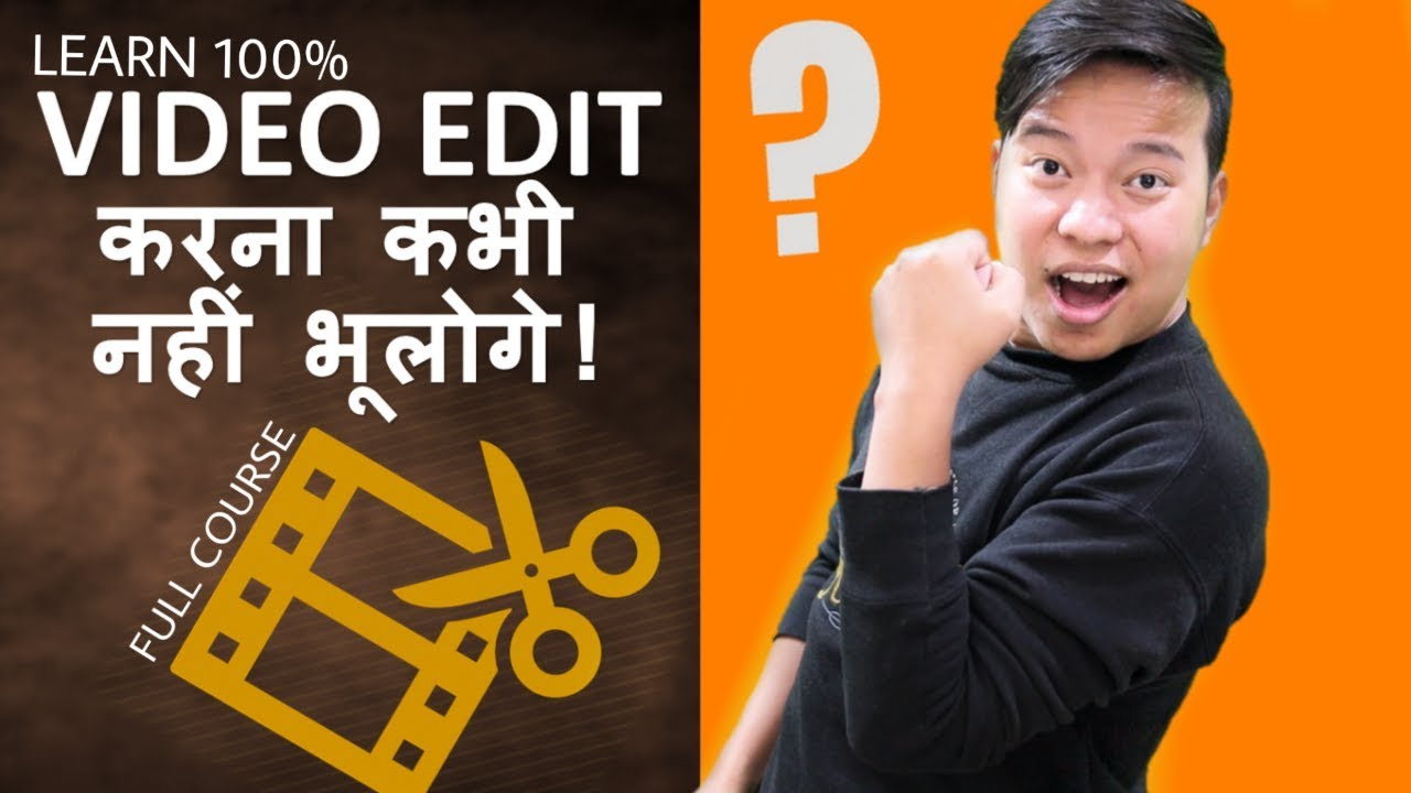 Learn Video Editing Full Course For Beginners Step By Step Guide