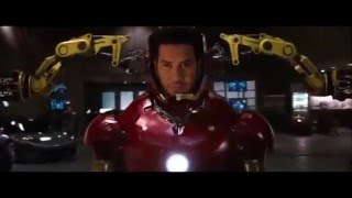 Iron Man Face Replacement After Effects