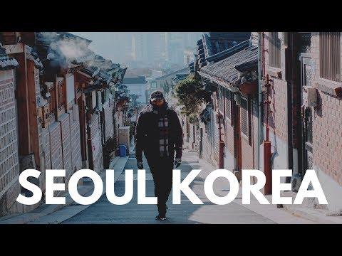 Seoul Korea Travel Vlog in 4K | RX100 V