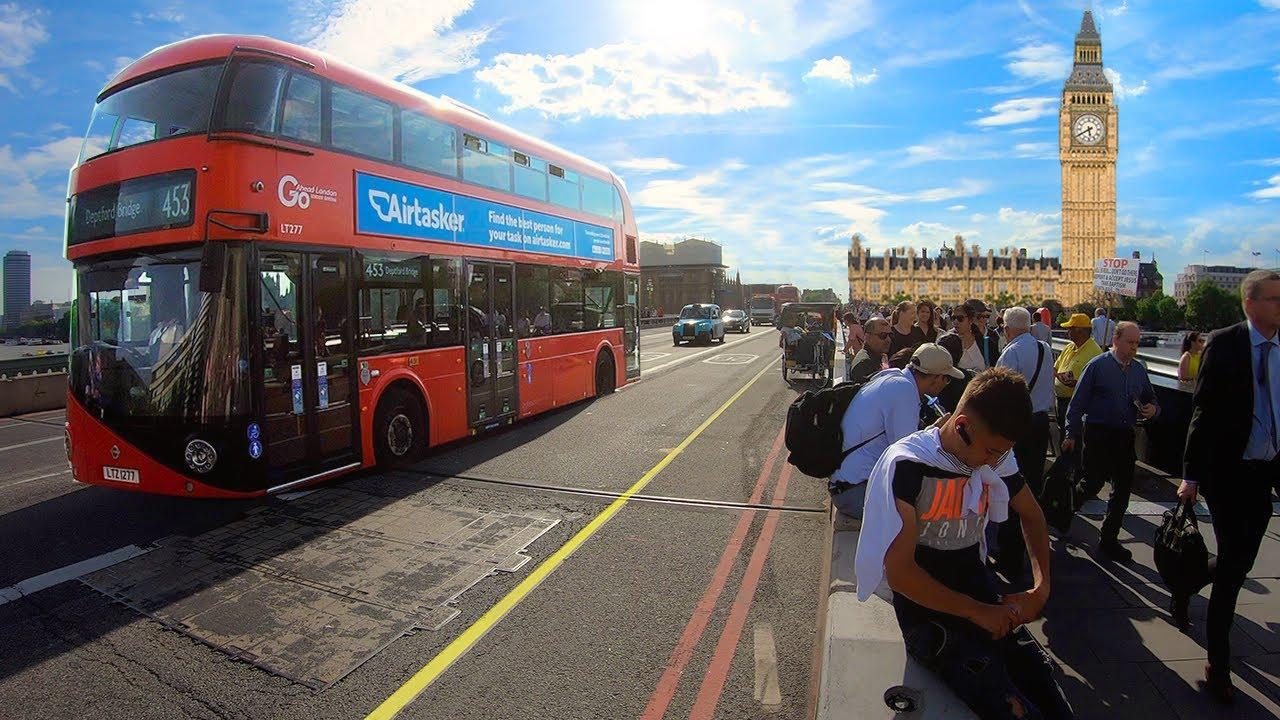 London, England — City Walking Tour【4K】🇬🇧