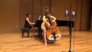 Le Grand Tango - Astor Piazzolla (Double Bass)