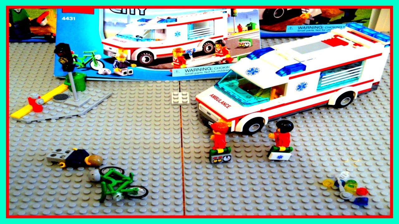 Lego city ambulance review set 4431 youtube - Lego ambulance ...