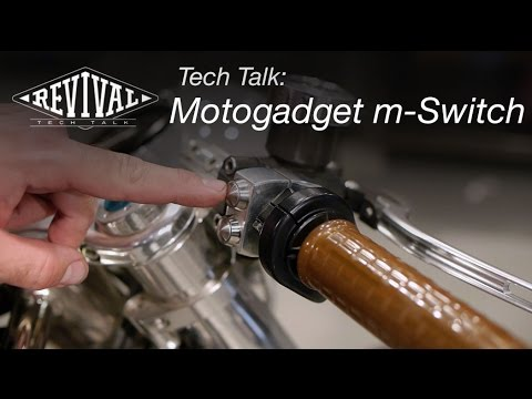 Motogadget m-Switch - Revival Cycles Tech Talk