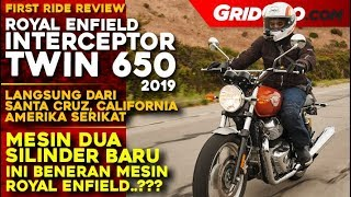 Royal Enfield Interceptor 650 Twin 2019 l First Ride Review Langsung dari California l GridOto