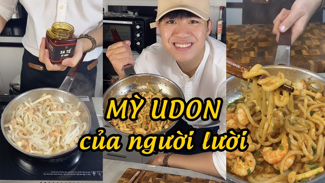 Cách nấu mỳ Udon siêu ngon siêu dễ dành cho người lười của ông Anh thích nấu ăn #tiktok #shorts