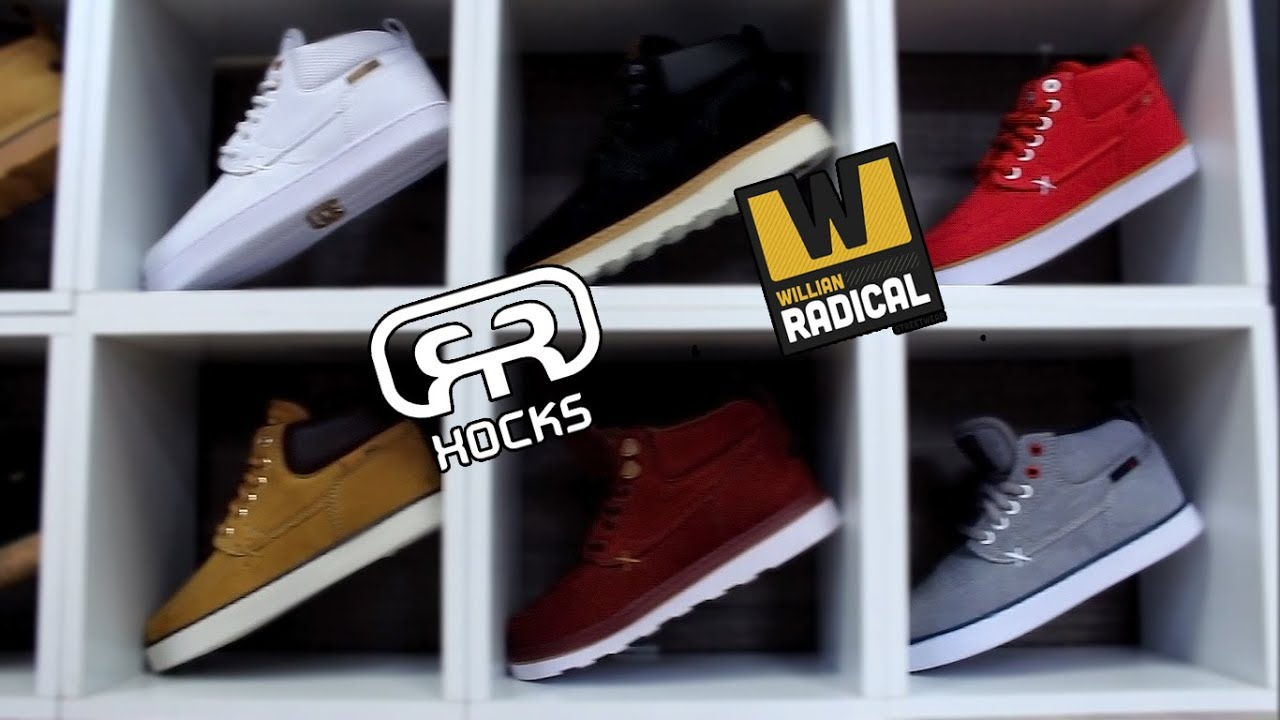 b85114d25 Tênis Hocks Coruña - Loja Willian Radical - YouTube