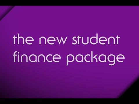 Student Finance Wales – the new student finance package
